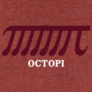 octopi T-Shirts - Unisex Tri-Blend T-Shirt by American Apparel