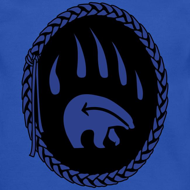 Tribal Bear Sweatshirt Men's First Nations Shirt
