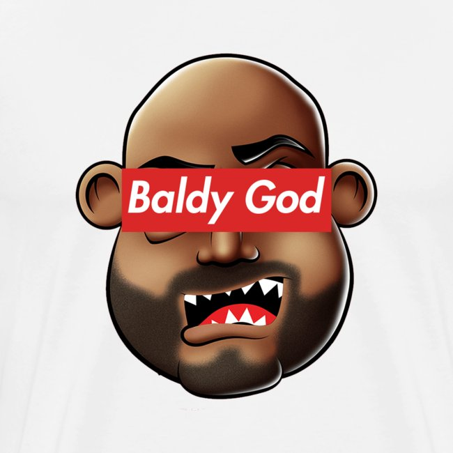 BALDY GOD. Men's Tee