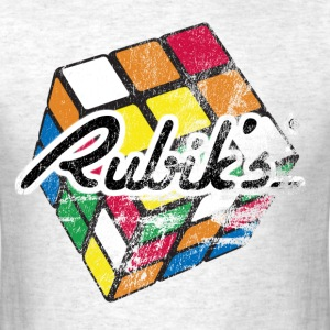 Rubiks Distressed - Men's T-Shirt