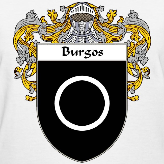 415197 | Burgos Coat of ArmsFamily Crest - Womens T-Shirt