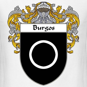 Burgos Coat of Arms/Family Crest - Men's T-Shirt
