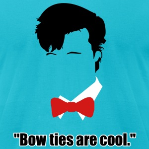 bow_ties_are_cool T-Shirts - Men's T-Shirt by American Apparel