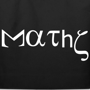 maths_with_greek_letters Bags  - Eco-Friendly Cotton Tote
