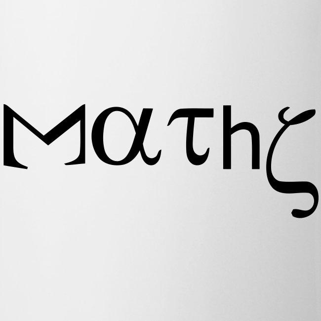 Mug maths humor