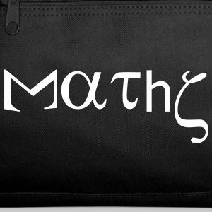 maths_with_greek_letters Bags  - Duffel Bag