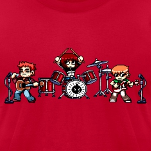 Scott Pilgrim - Pixel Band - Men's T-Shirt by American Apparel
