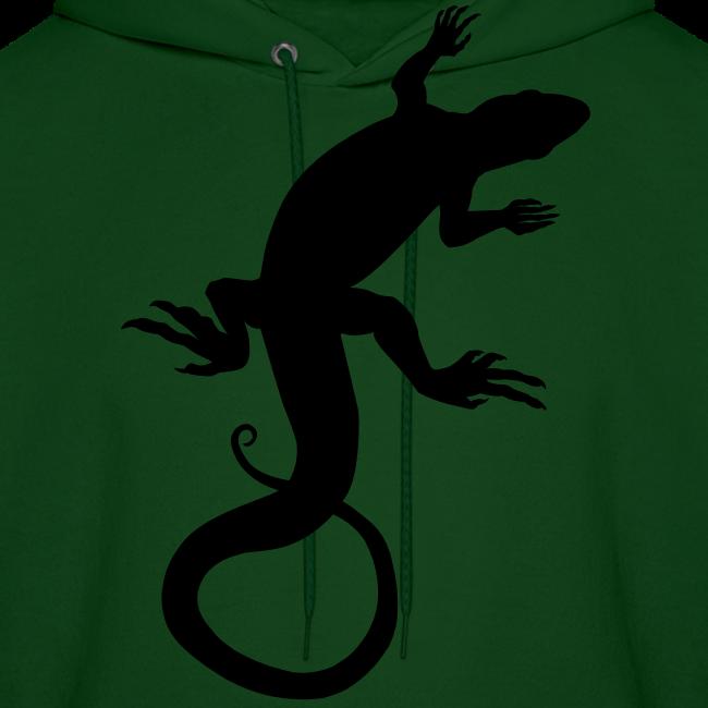 Lizard Hoodie Men's Reptile Art Jacket