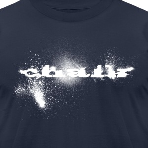 Chalk Shirt - Men's T-Shirt by American Apparel