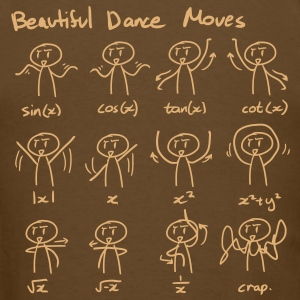 beautiful_dance_moves T-Shirts - Men's T-Shirt