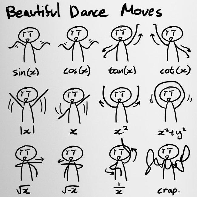 Maths humor, Maths curves, Beautiful dance moves