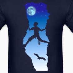 Night climbing T-Shirts