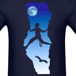 Night climbing T-Shirts - Men's T-Shirt