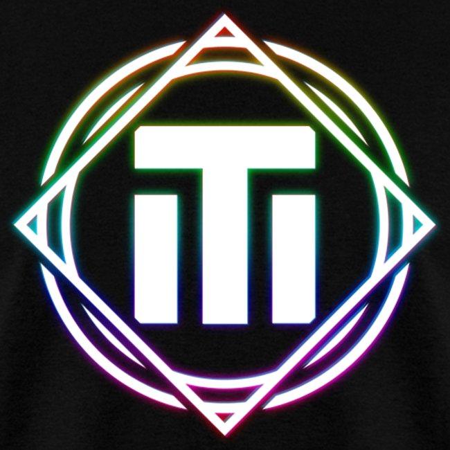 Big Rainbow Logo Black T-Shirt