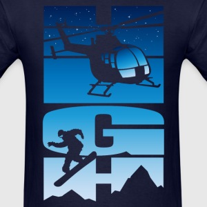 High jump snowboard T-Shirts - Men's T-Shirt