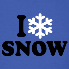 I love snow T-Shirts