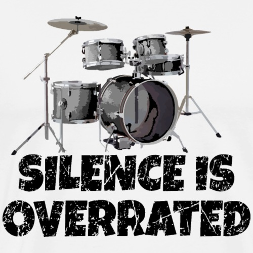 Silence is overrated - Drums Design