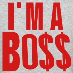 I'M A BOSS Long Sleeve Shirts