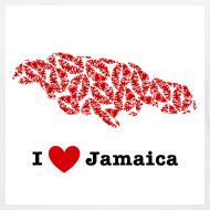 Design ~ I Love Jamaica V-Neck