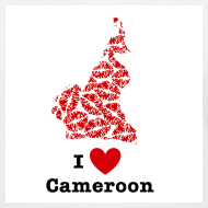 Design ~ I Love Cameroon V-Neck