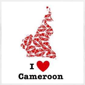 Design ~ I Love Cameroon V-Neck
