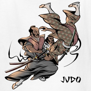 Judo Throw Design Kids T- Shirt Samurai Uki Otoshi - Kids' T-Shirt