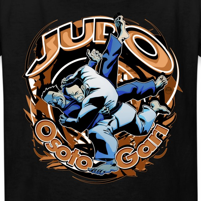 Judo Osoto Gari Kids T-shirt