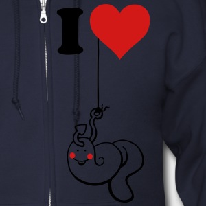 I love Fishing Zip Hoodies/Jackets - Men's Zip Hoodie
