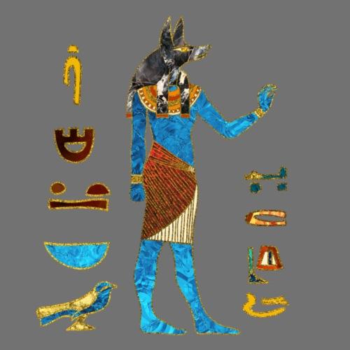 Anubis Egyptian Gold
