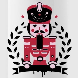 Nutcracker character as a hussar with mustaches Accessories - Water Bottle