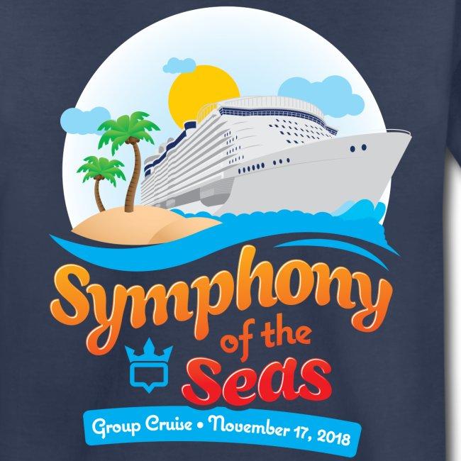 Kids Symphony of the Seas Group Cruise T-Shirt