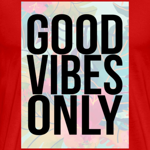 good vibes only tropical