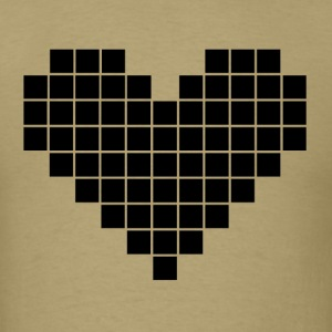 Pixel Heart - Men's T-Shirt