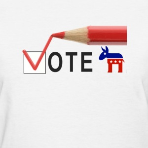 Vote democrat.png Women's T-Shirts - Women's T-Shirt