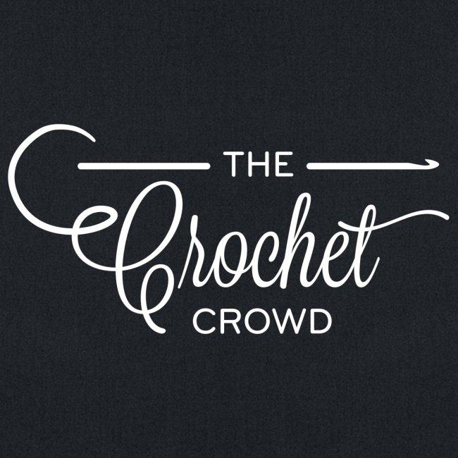 The Crochet Crowd Yarn Tote - Big Logo | Tote Bag
