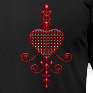 Veve Love - Erzulie Voodoo Goddess of Love / T-Shirts - Men's T-Shirt by American Apparel
