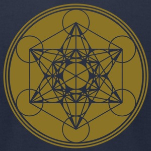 Vector - Metatrons Cube - Flower of Life T-Shirts - Men's T-Shirt by American Apparel