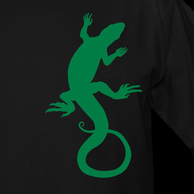 Men's Lizard Art Shirt Plus Size 4XL Reptile T-shirt