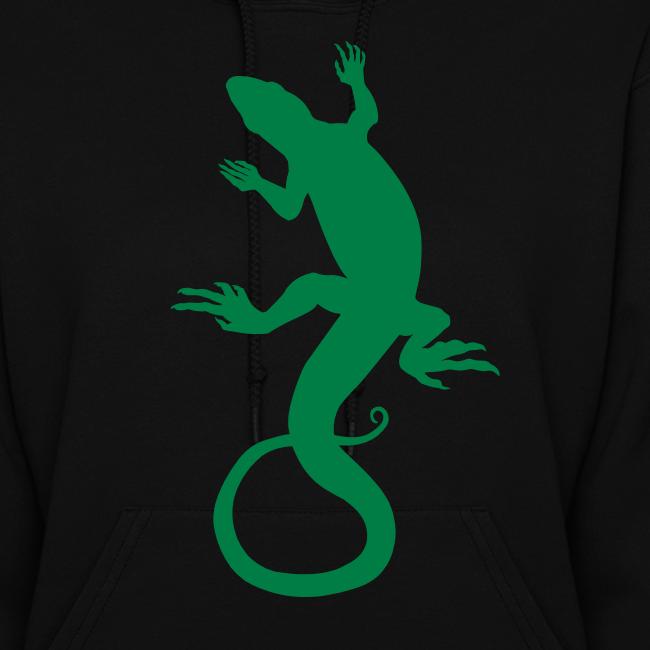 Lizard Hoodie Women's Reptile Art Jacket