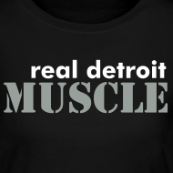 Design ~ Women's long sleeve RDM with I Love Muscle