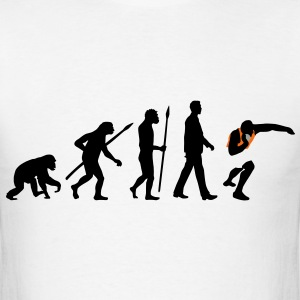 evolution_kugelstosser_102012_b_3c T-Shirts - Men's T-Shirt