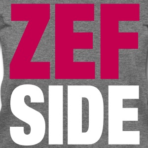 Zef Side pink - Women's Wideneck Sweatshirt