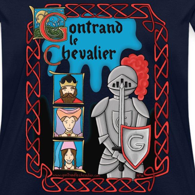 T-shirt pour femmes Gontrand le Chevalier