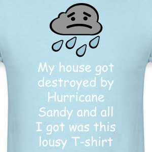 Survived Hurricane Sandy T-shirt - Men's T-Shirt