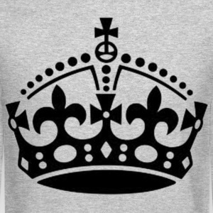 Kings Crown Long Sleeve Shirts - Crewneck Sweatshirt