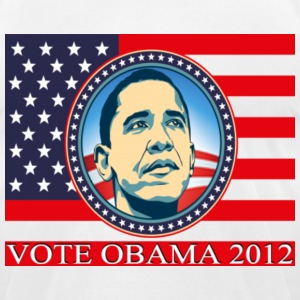 VoteObama2012 T-Shirts - Men's T-Shirt by American Apparel