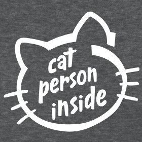 Design ~ Cat person inside