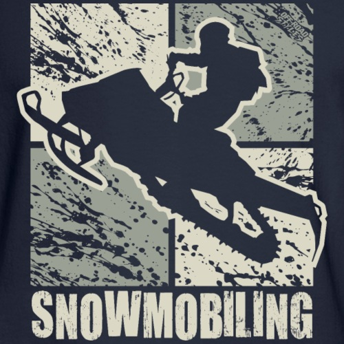 Snowmobile Rider Cubism
