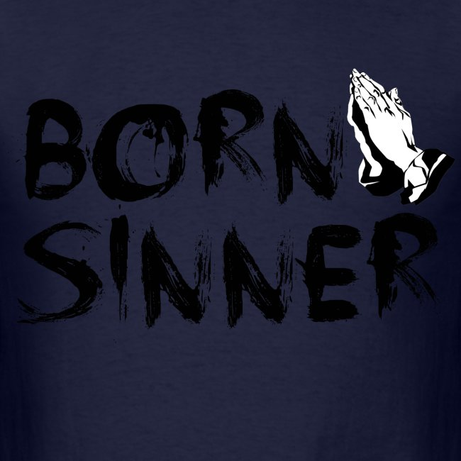 Born Sinner Hands (T-Shirt / Black)