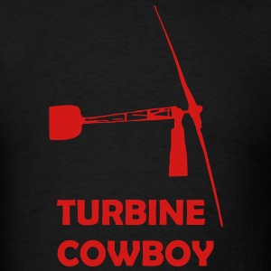 Turbine Cowboy - Men's T-Shirt